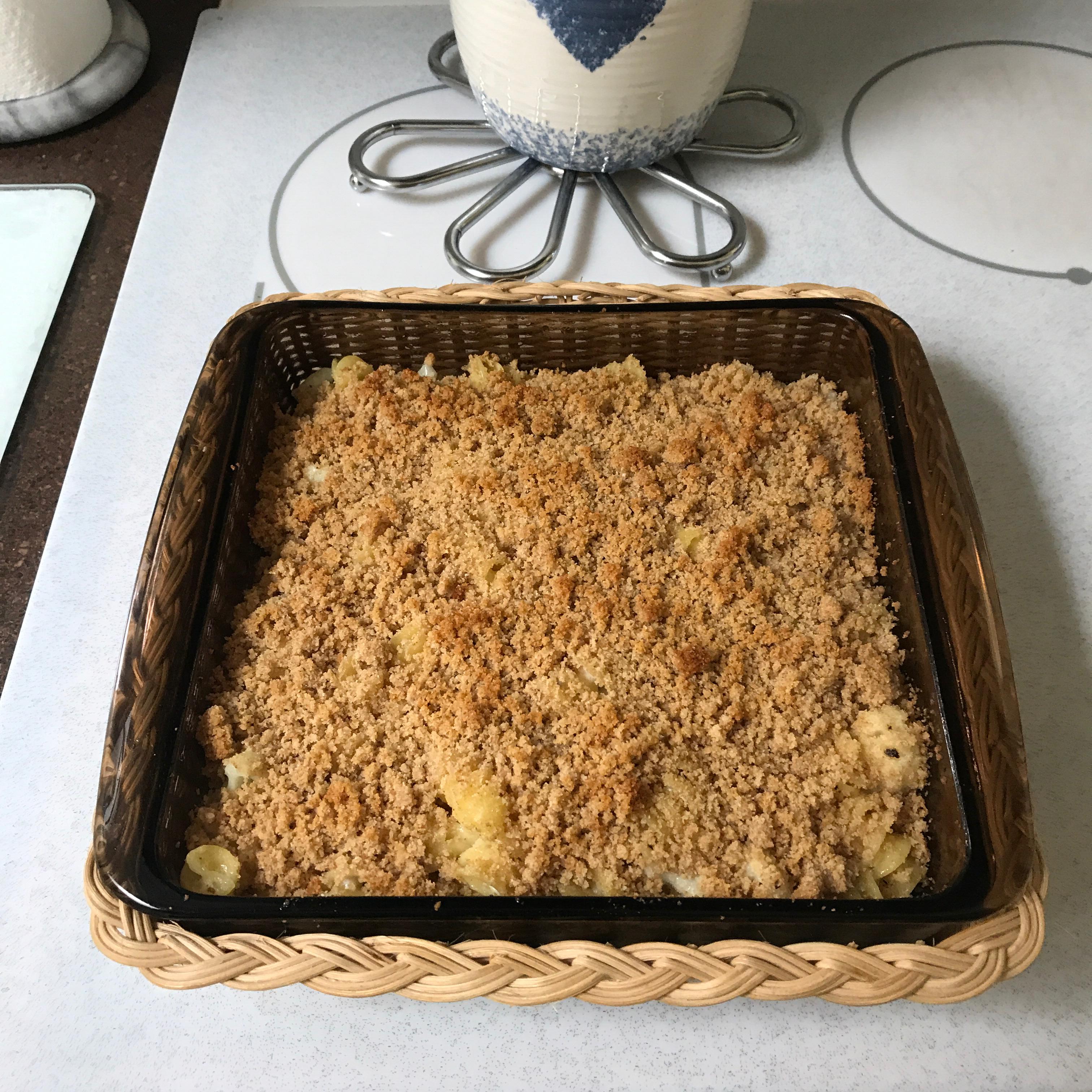 Baked Cauliflower Macaroni & Cheese