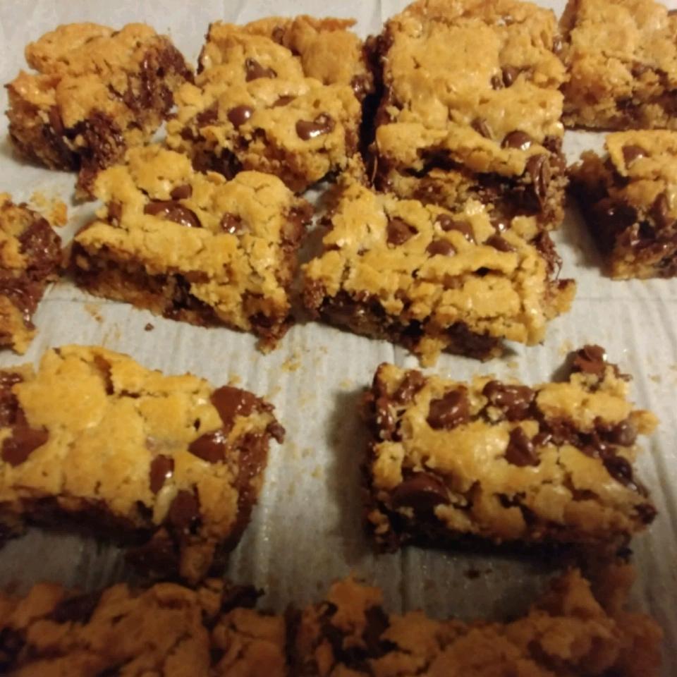 Bake Sale Chocolate Chip Oatmeal Brownies Amanda Woods Vanderhoff