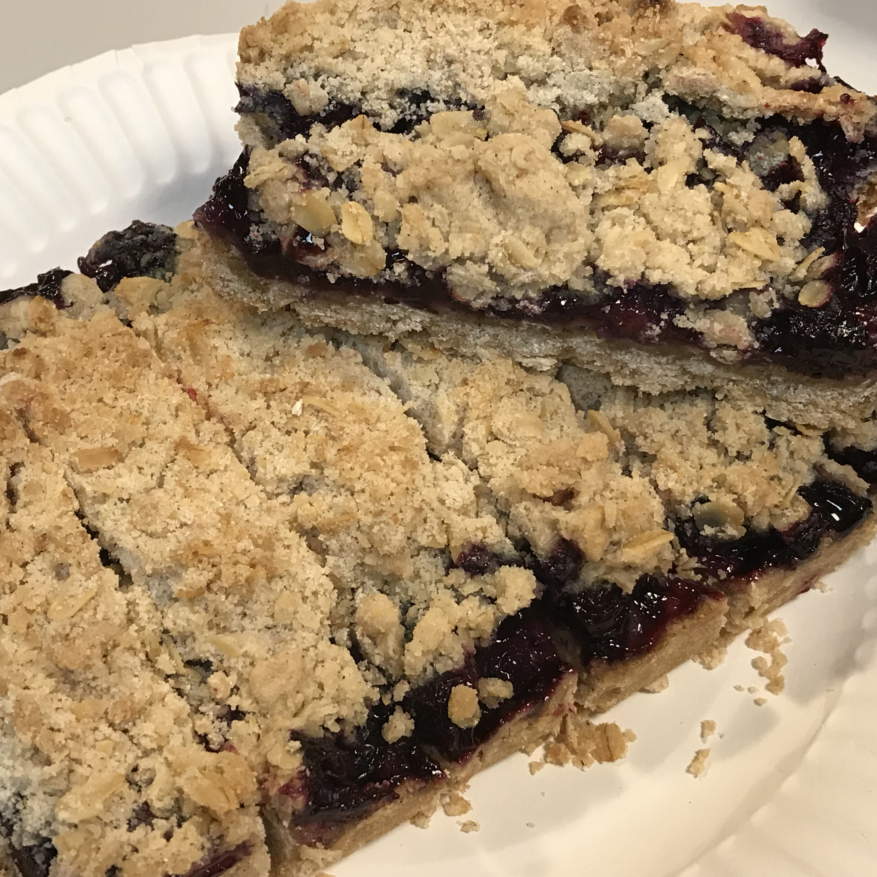 Blueberry Crumble Bars Mary Canedy
