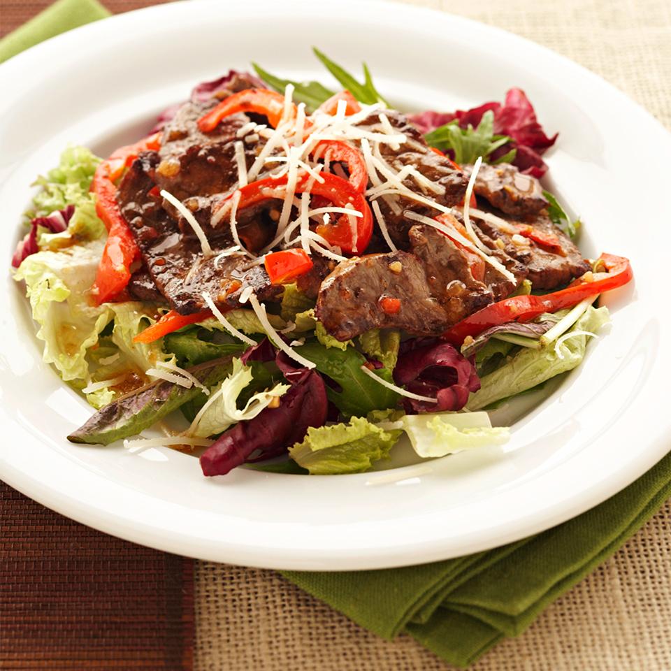 Hot Italian Beef Salad Trusted Brands