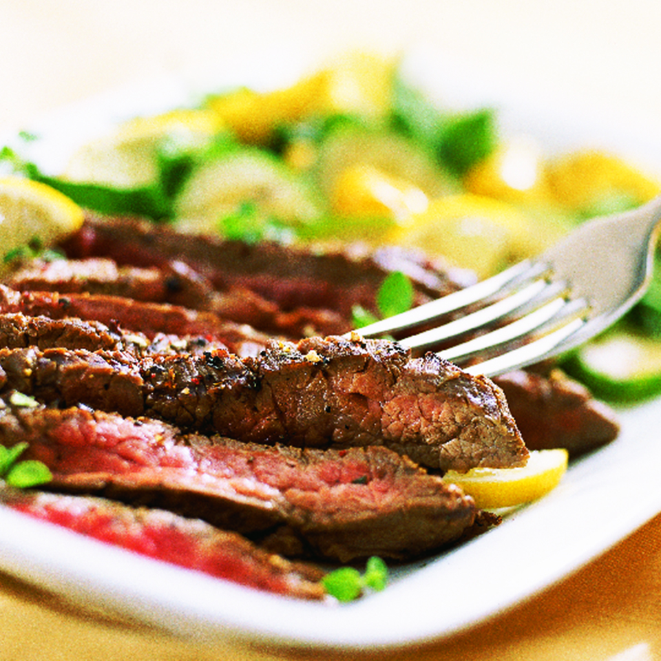 Lemon-Pepper Steak Diabetic Living Magazine