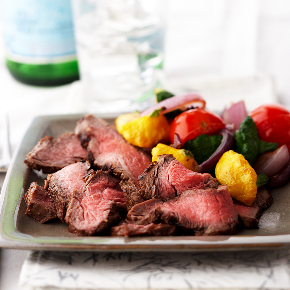 Lemon-Soy Marinated Flank Steak Diabetic Living Magazine
