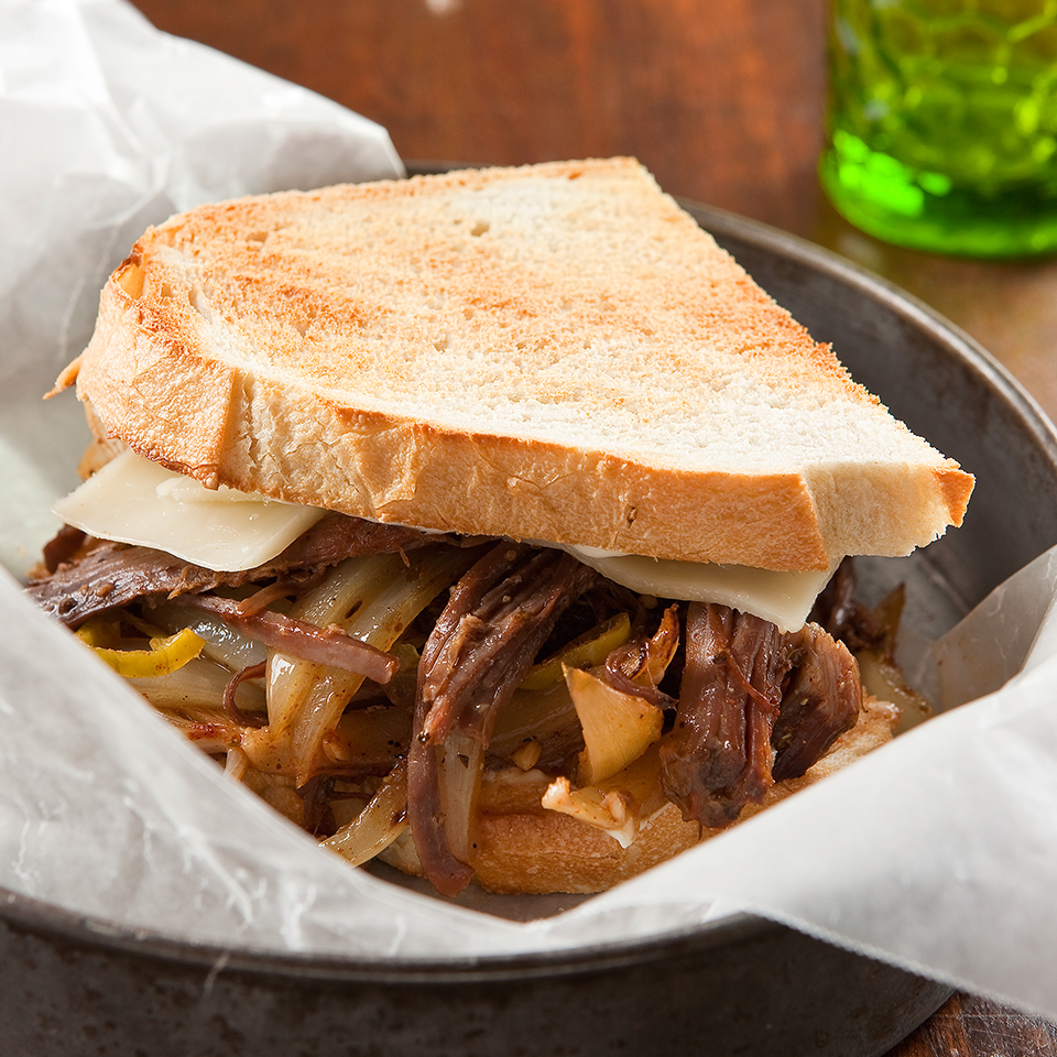 Philly Shredded Beef Sandwiches Diabetic Living Magazine