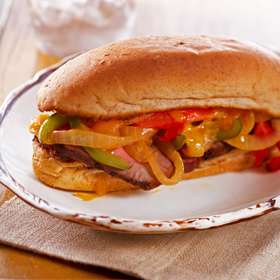 Philly Steak Sandwiches Diabetic Living Magazine