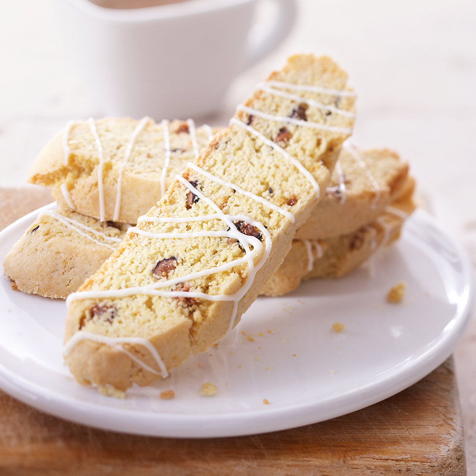 Cornmeal-Fig Biscotti Diabetic Living Magazine