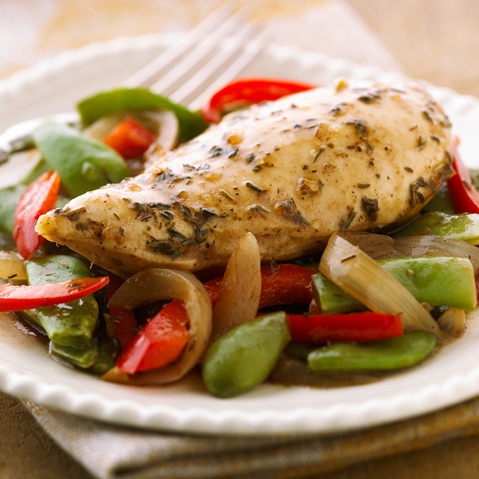 Herbed Balsamic Chicken Diabetic Living Magazine