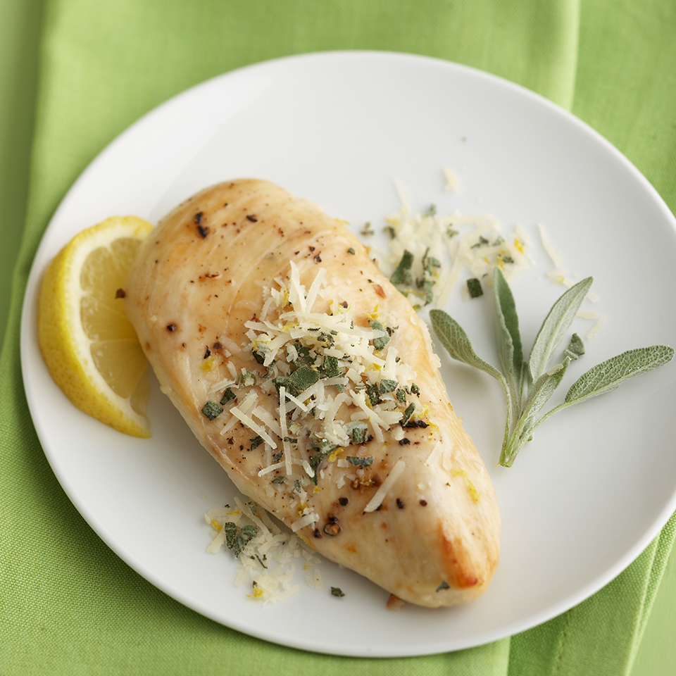 Lemon-Garlic Chicken Diabetic Living Magazine