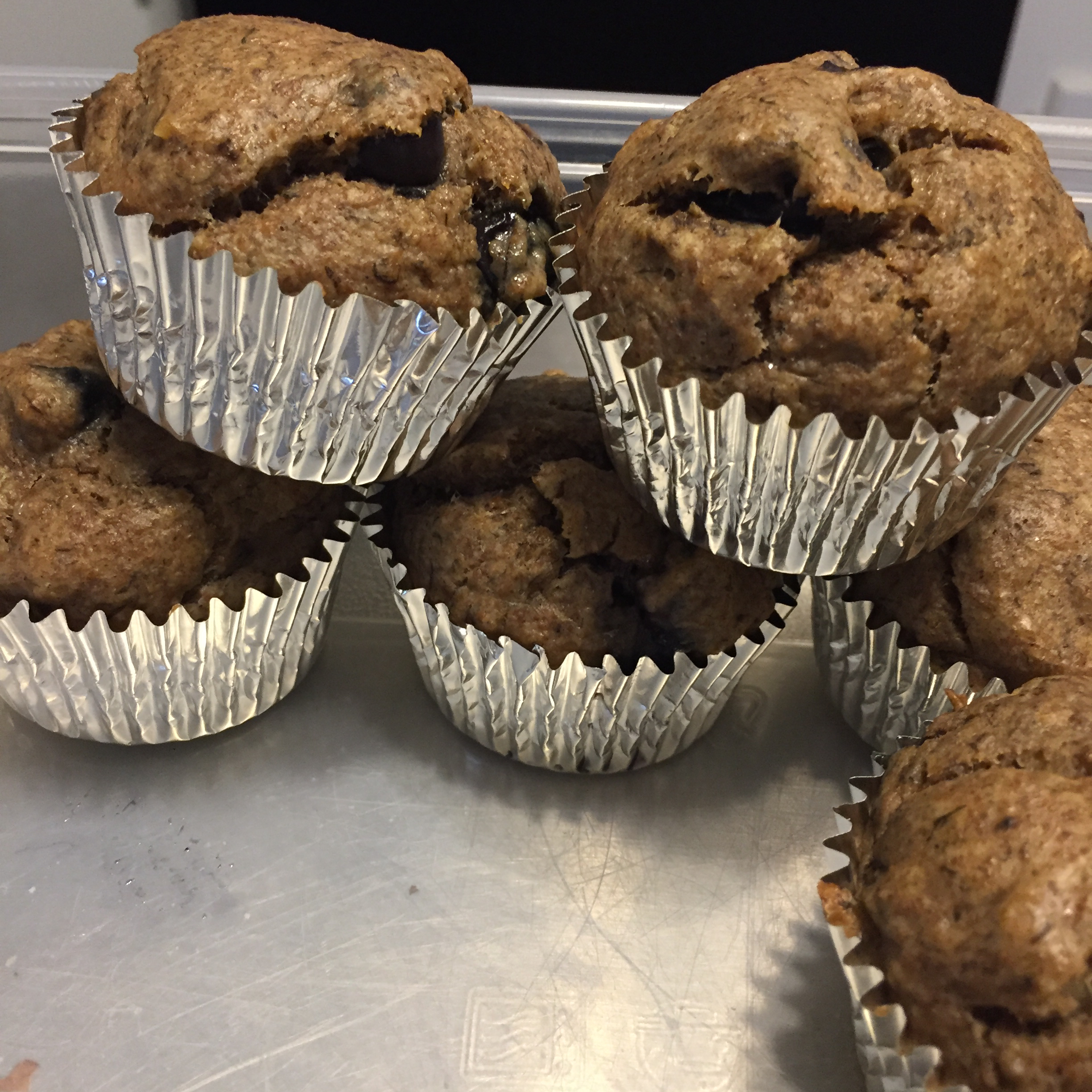 Banana Blueberry Muffins lacarr5
