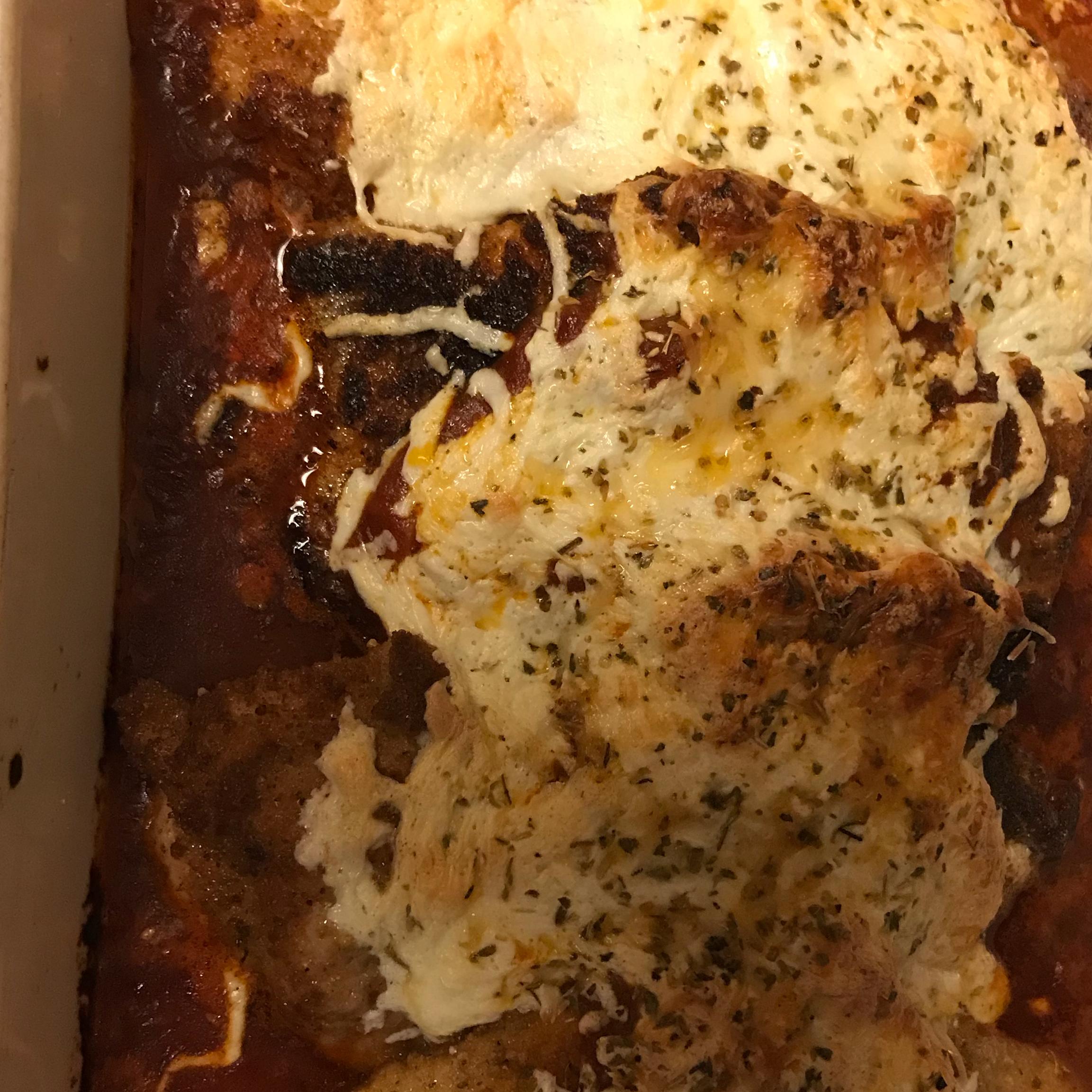 My Chicken Parmesan