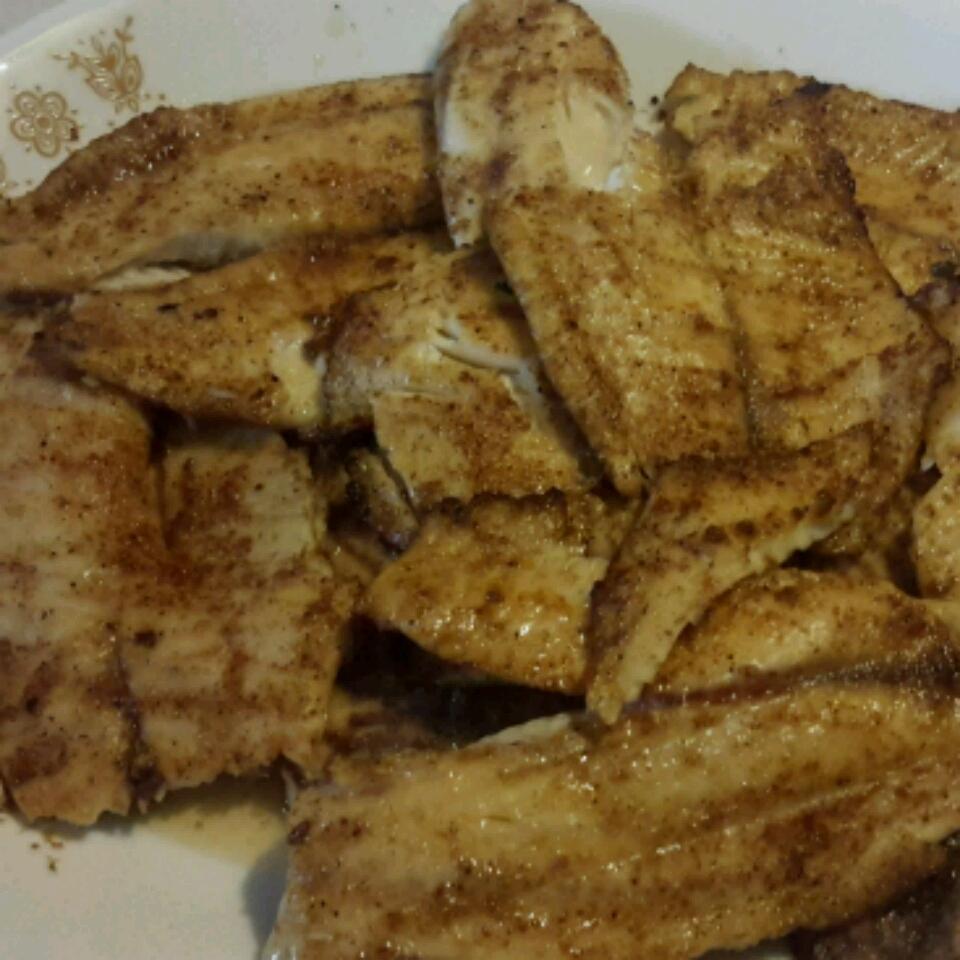 Grilled Tilapia with Smoked Paprika Samiam