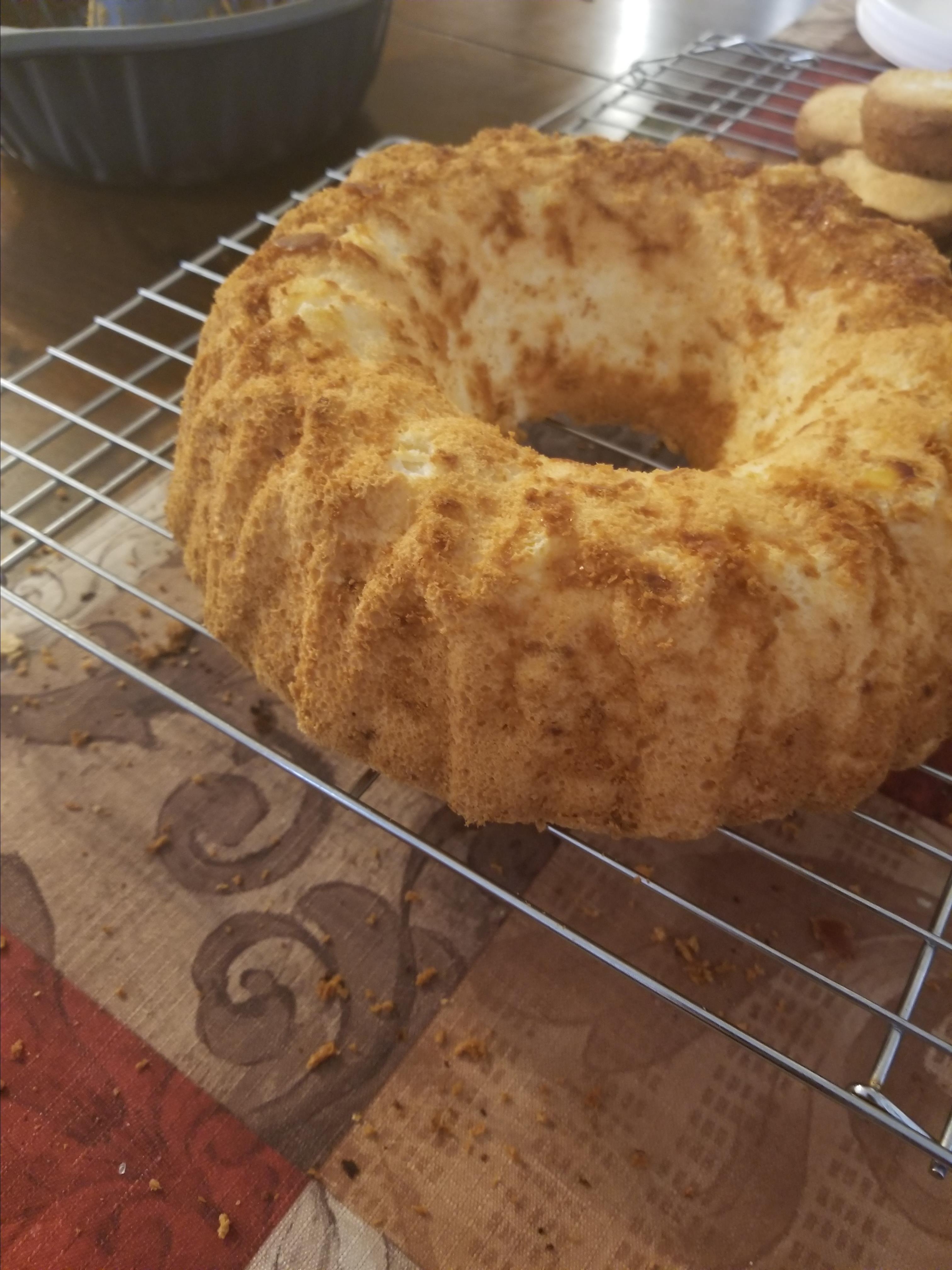 Pineapple Angel Food Cake I