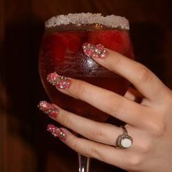 Strawberry Champagne Punch Kelly Lynn Smith