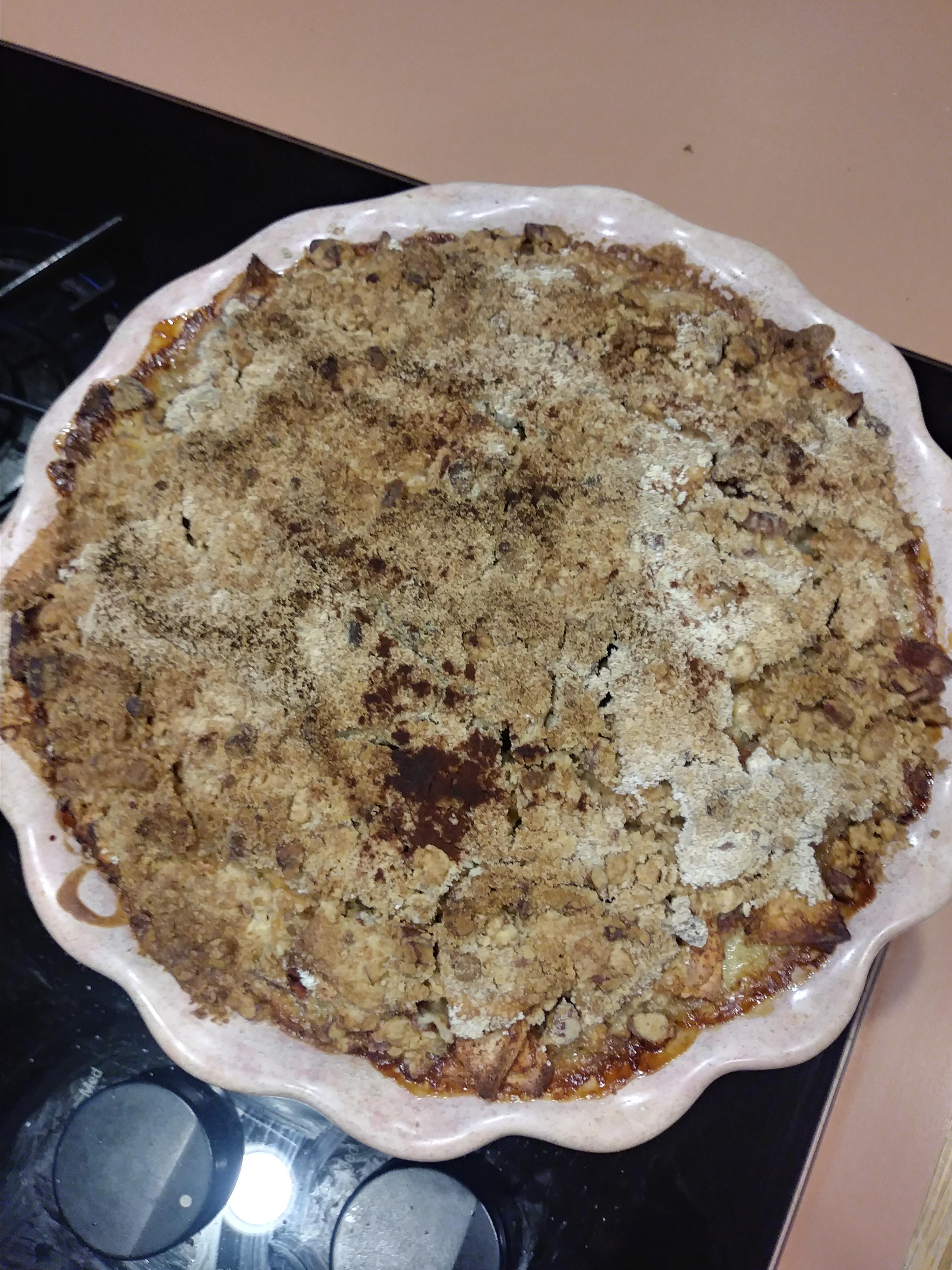 Impossible French Apple Pie Melanie Schadewald
