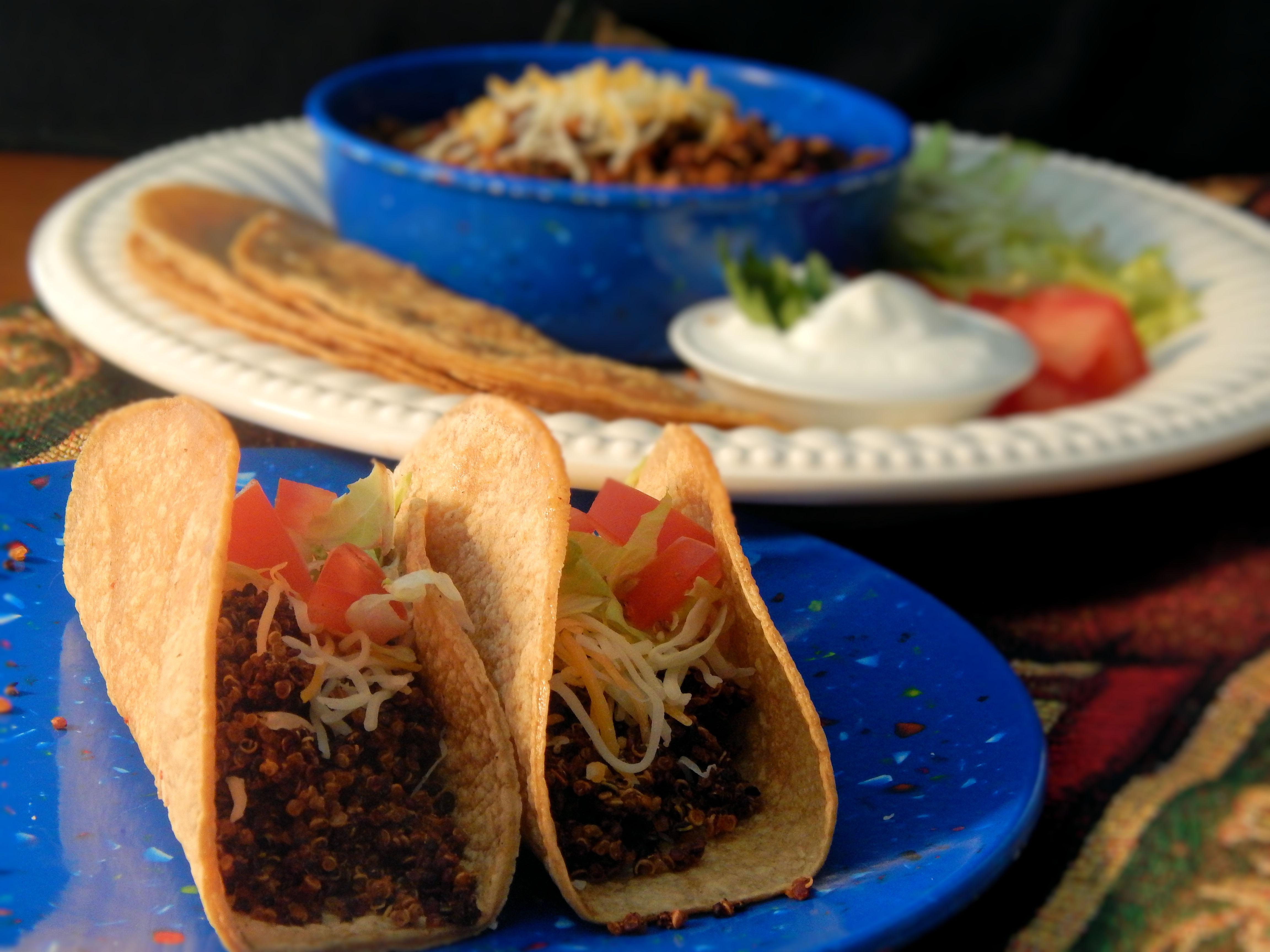Instant Pot® Quinoa Taco Meat Substitute Garrett Griffin