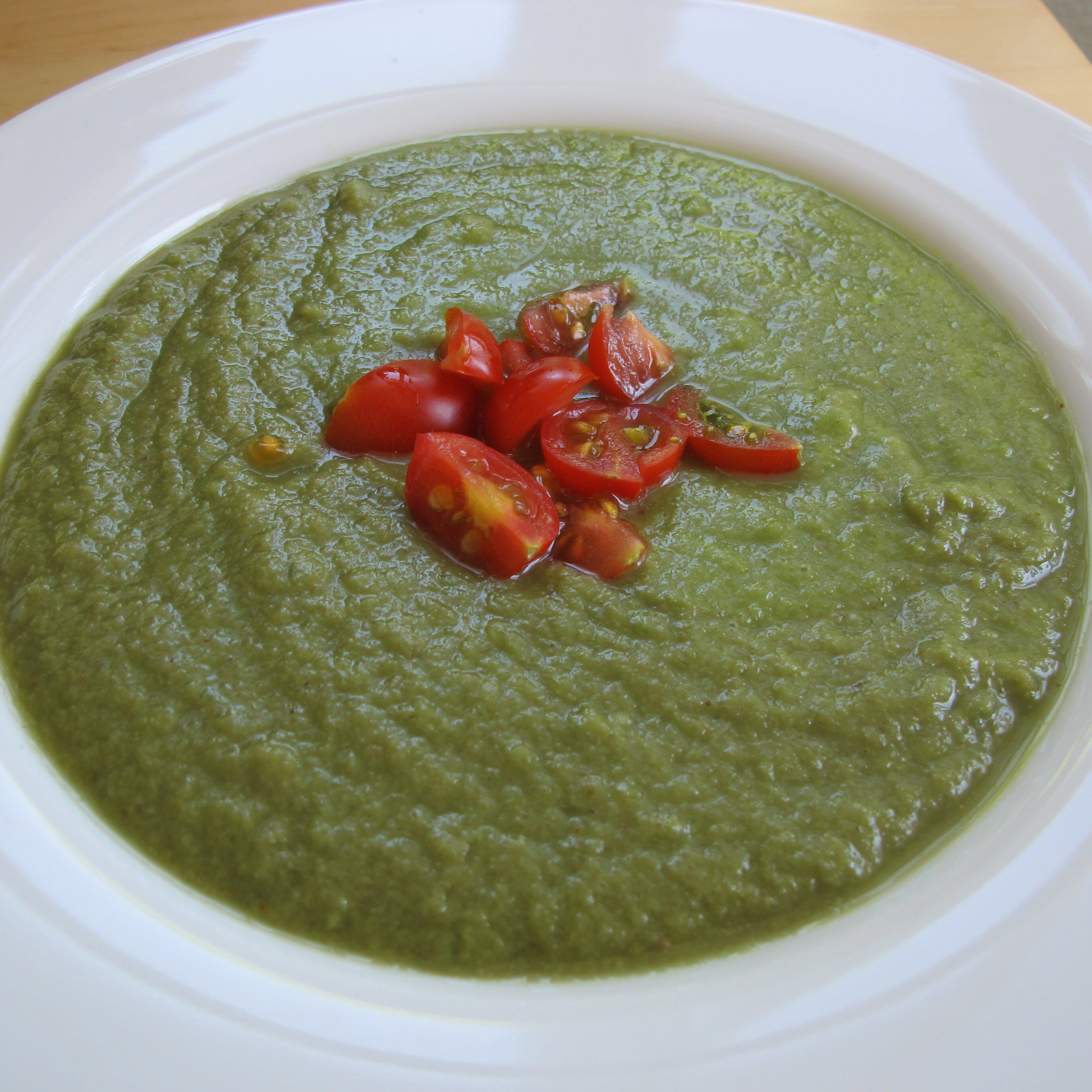 Easy Green Gazpacho