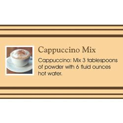 Cappuccino in a Jar