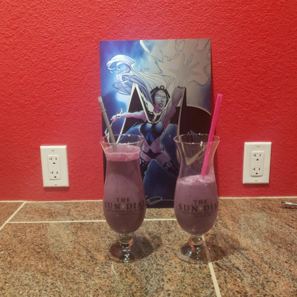 Blueberry Banana Milkshake Nique Eagen