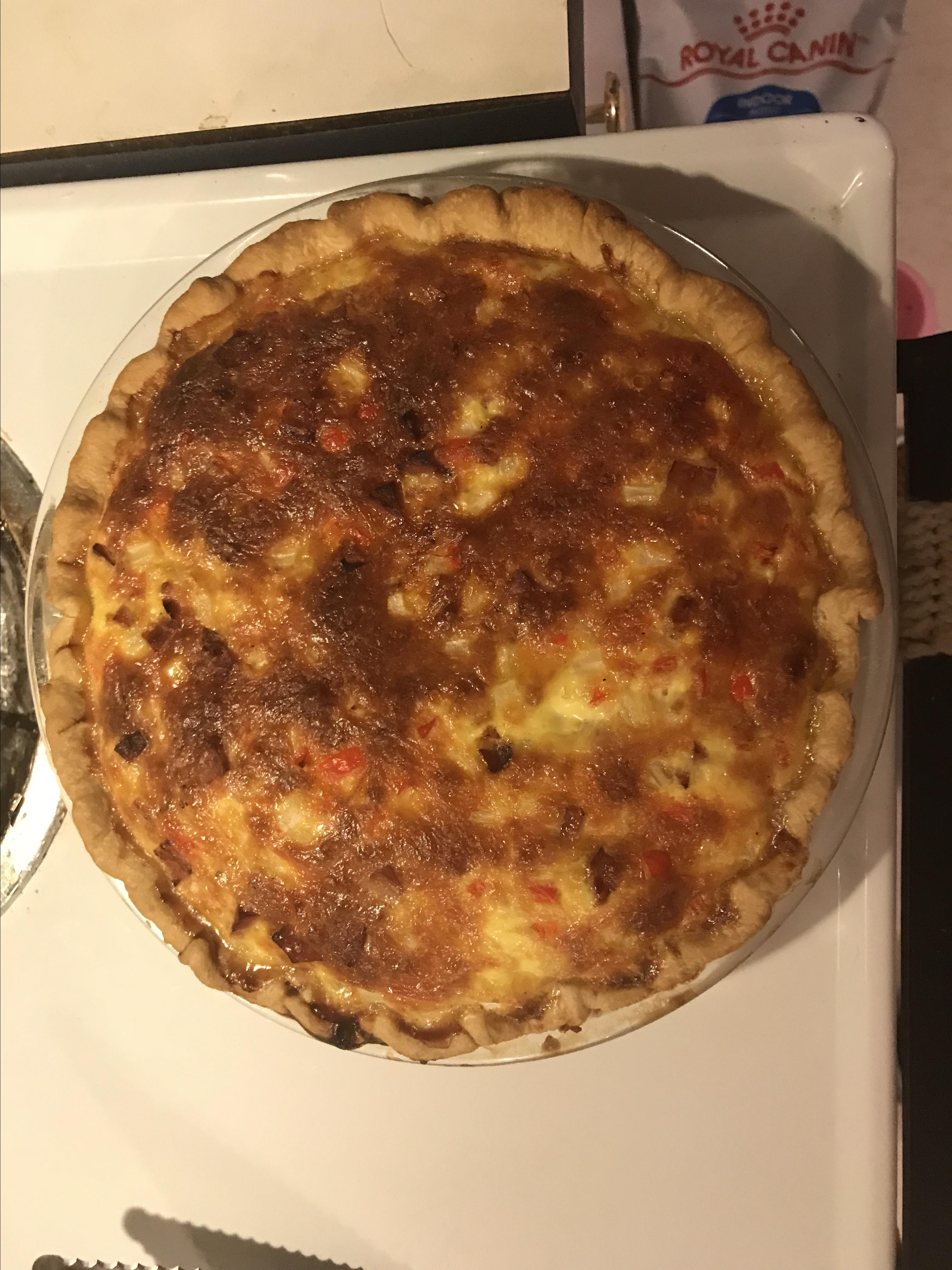 Western Omelet Quiche Sherry