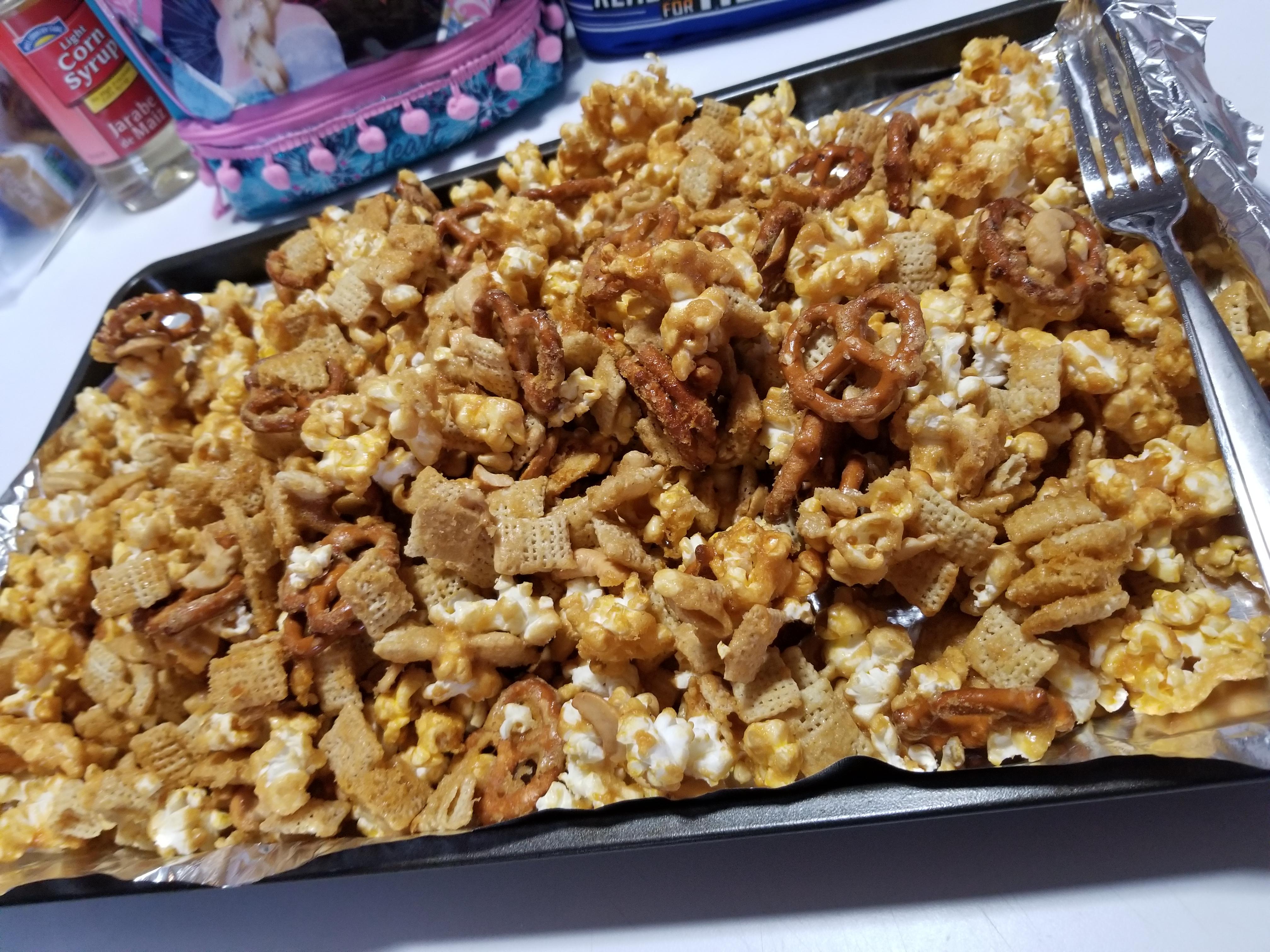 Caramel Corn Snack Mix Msstrickland93
