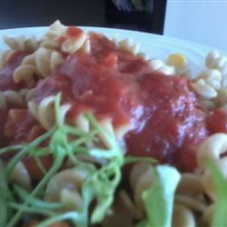 Spaghetti With Marinara Sauce Shellie Robledo