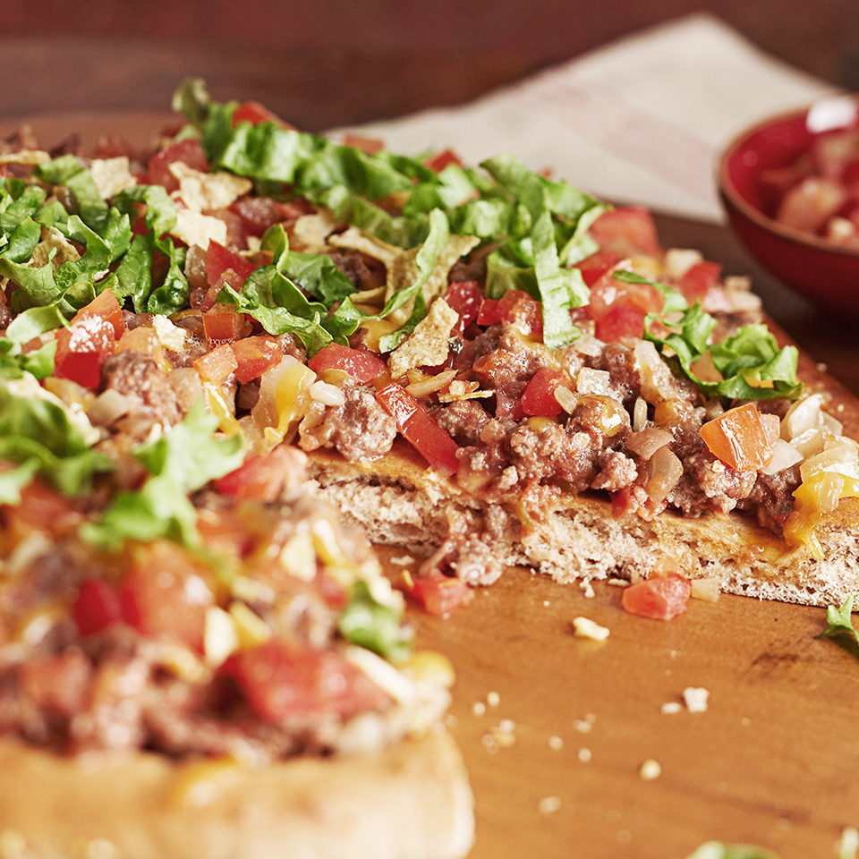 Beef Taco Pizza Diabetic Living Magazine