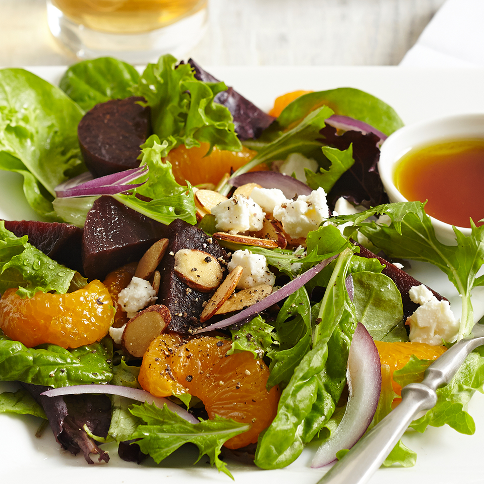 Beet, Orange & Red Onion Salads Diabetic Living Magazine