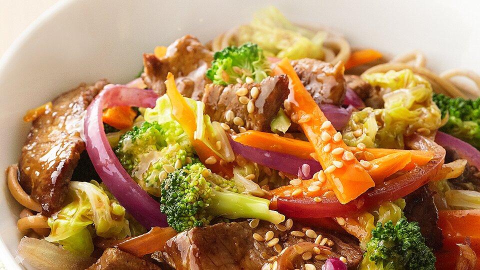 Sweet Asian Beef Stir Fry Recipe Eatingwell
