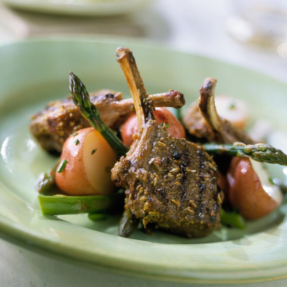 Grilled Fennel-Cumin Lamb Chops Allrecipes Trusted Brands