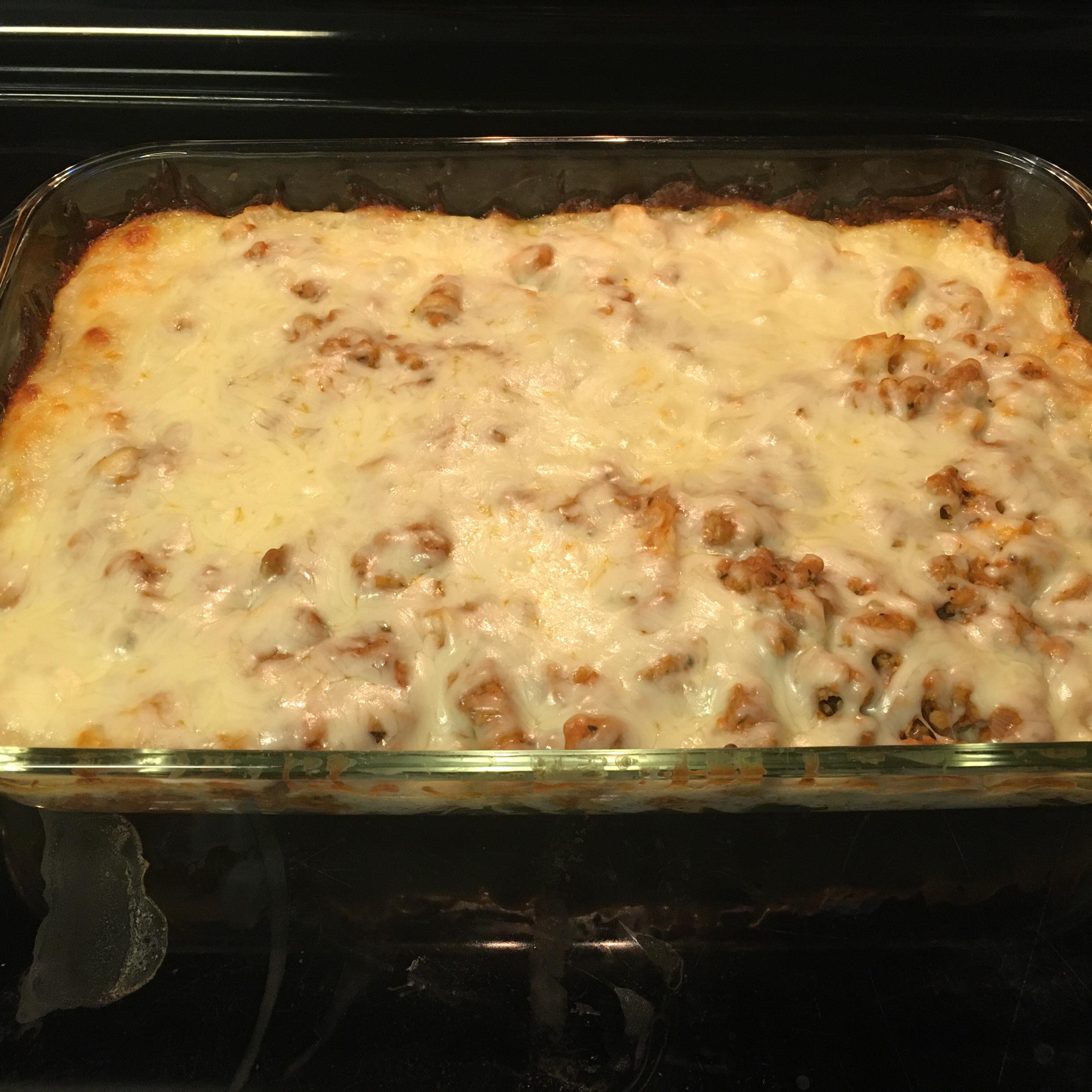 Ground Turkey Noodle Bake Marlaina Long