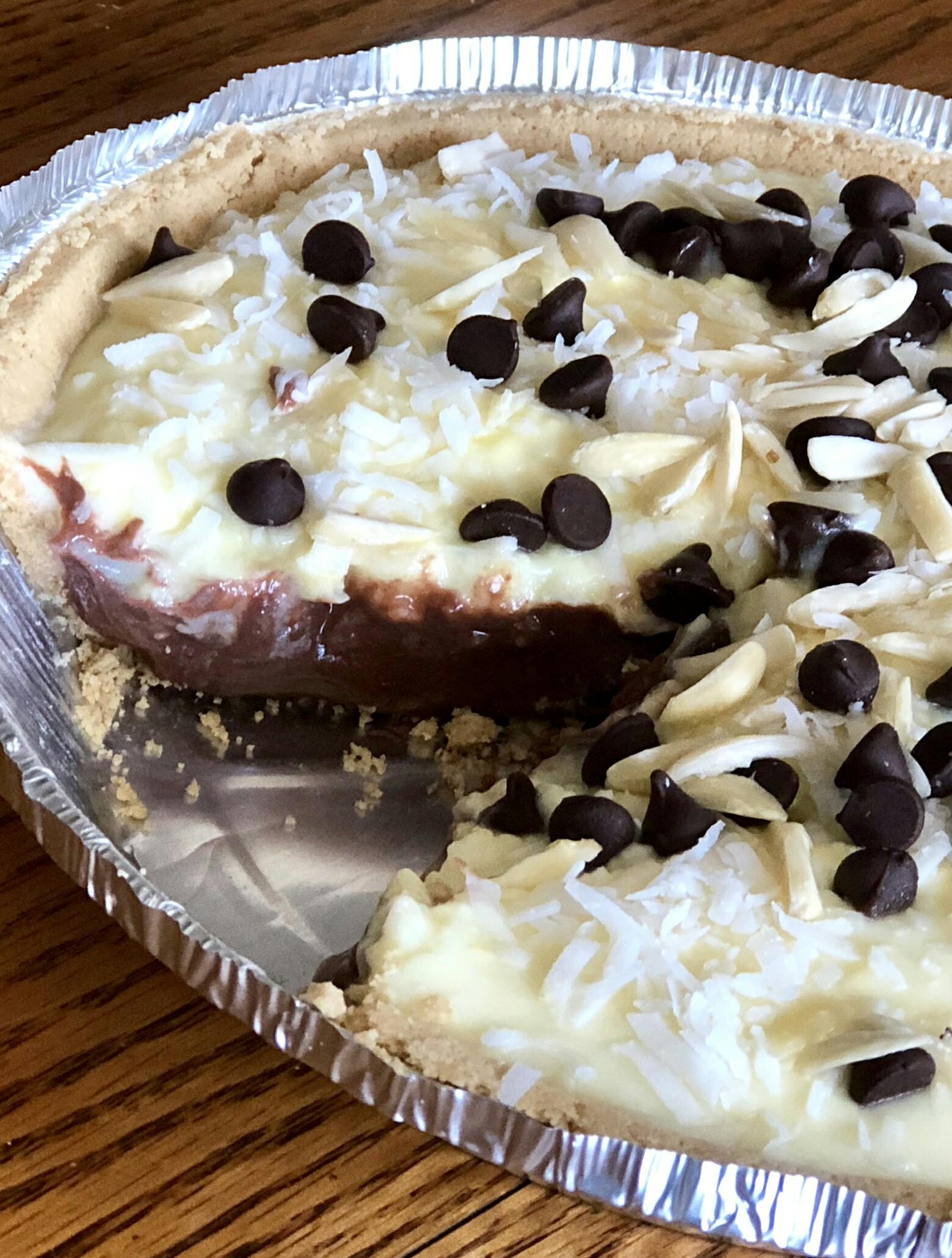 Chocolate Coconut Pudding Pie rsmontana