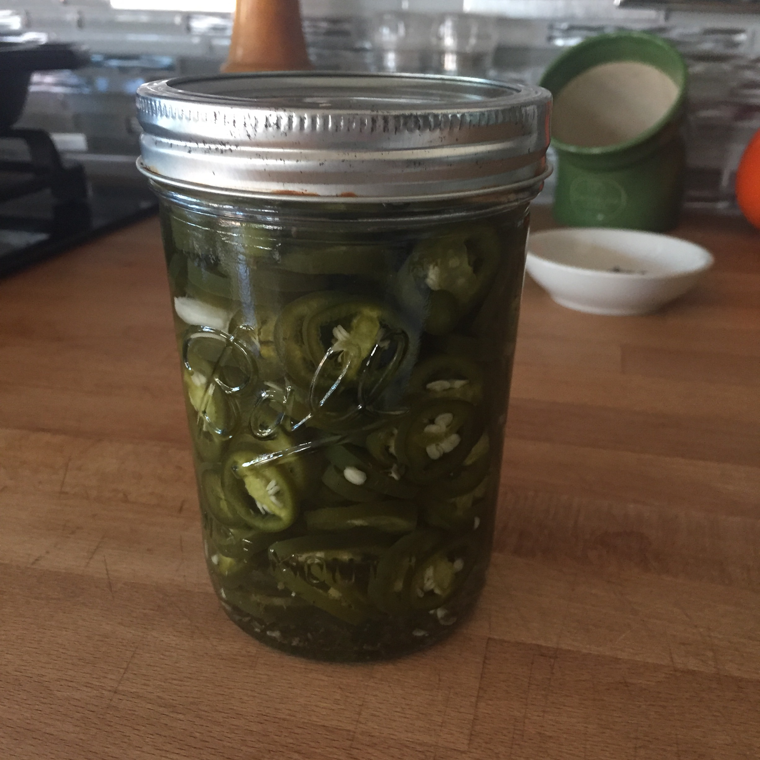 Quick Pickled Jalapeno Rings