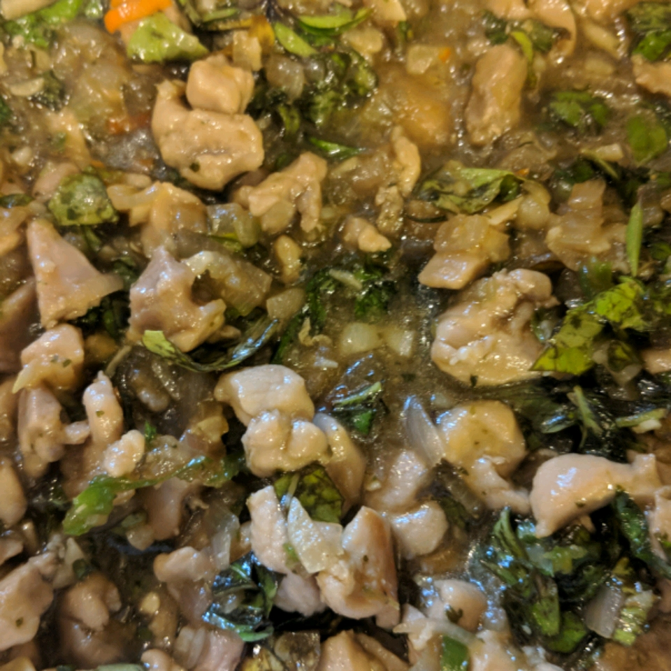 Spicy Thai Basil Chicken (Pad Krapow Gai)