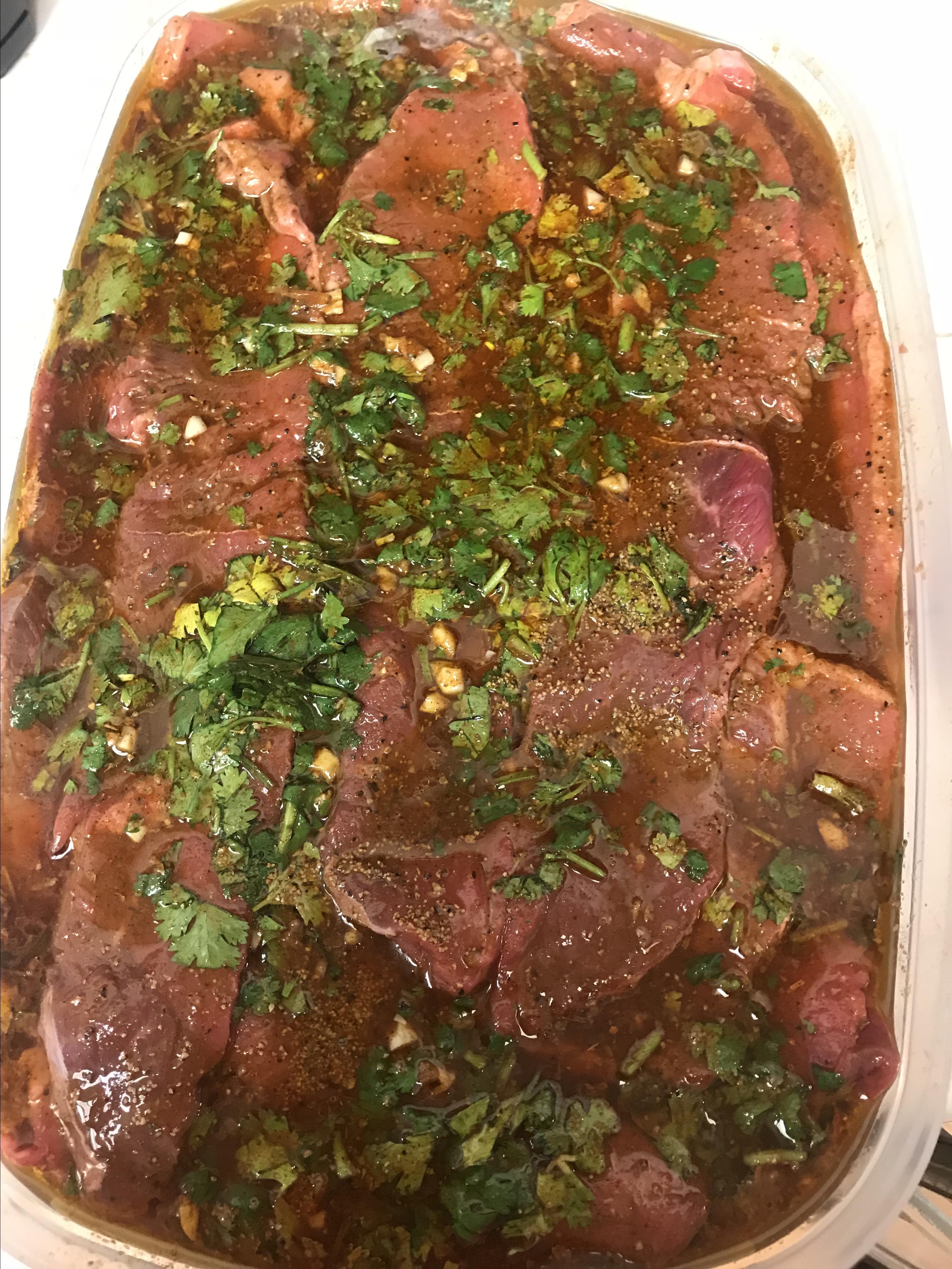 Lisa's Favorite Carne Asada Marinade whit.mills806