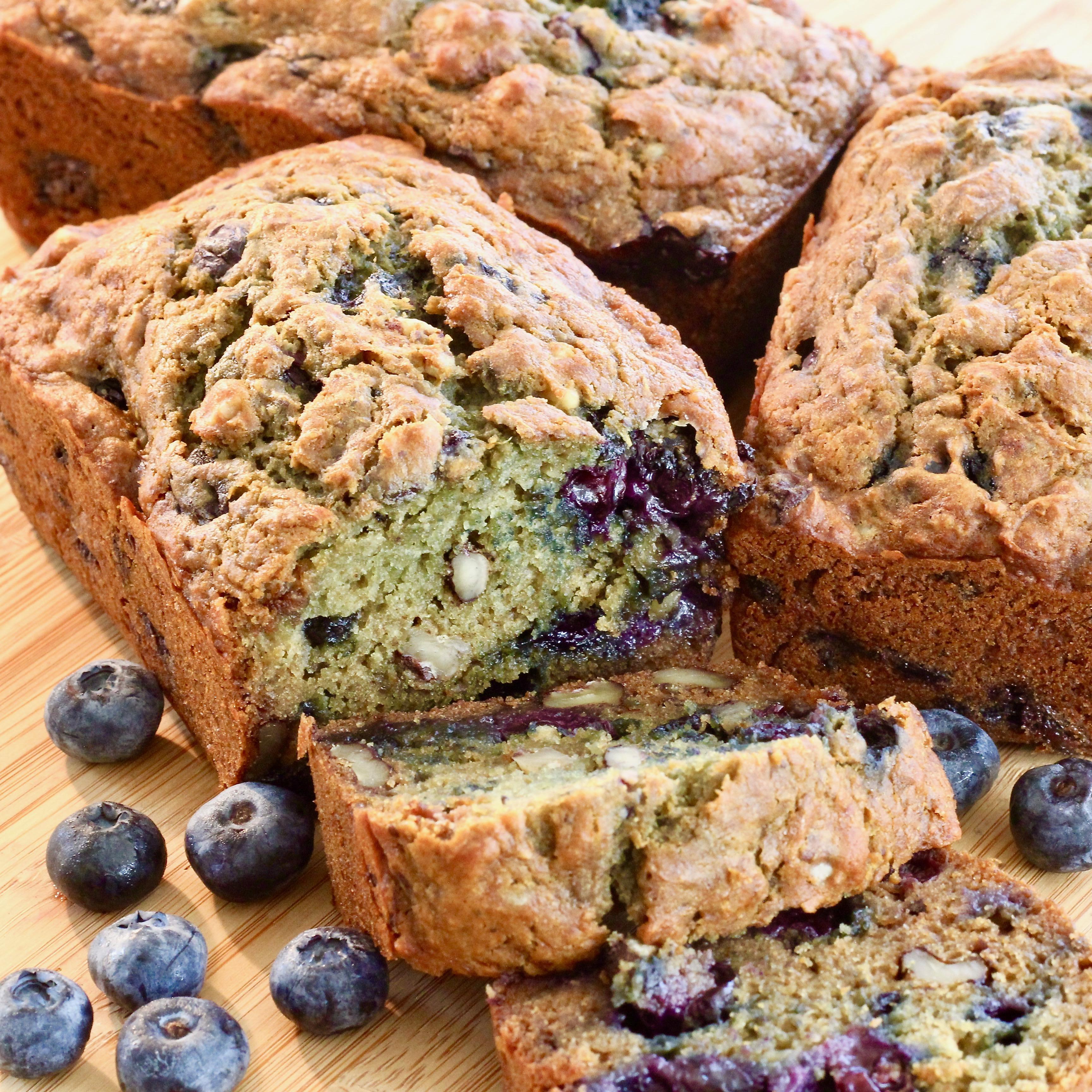 Blueberry Summer Squash Bread