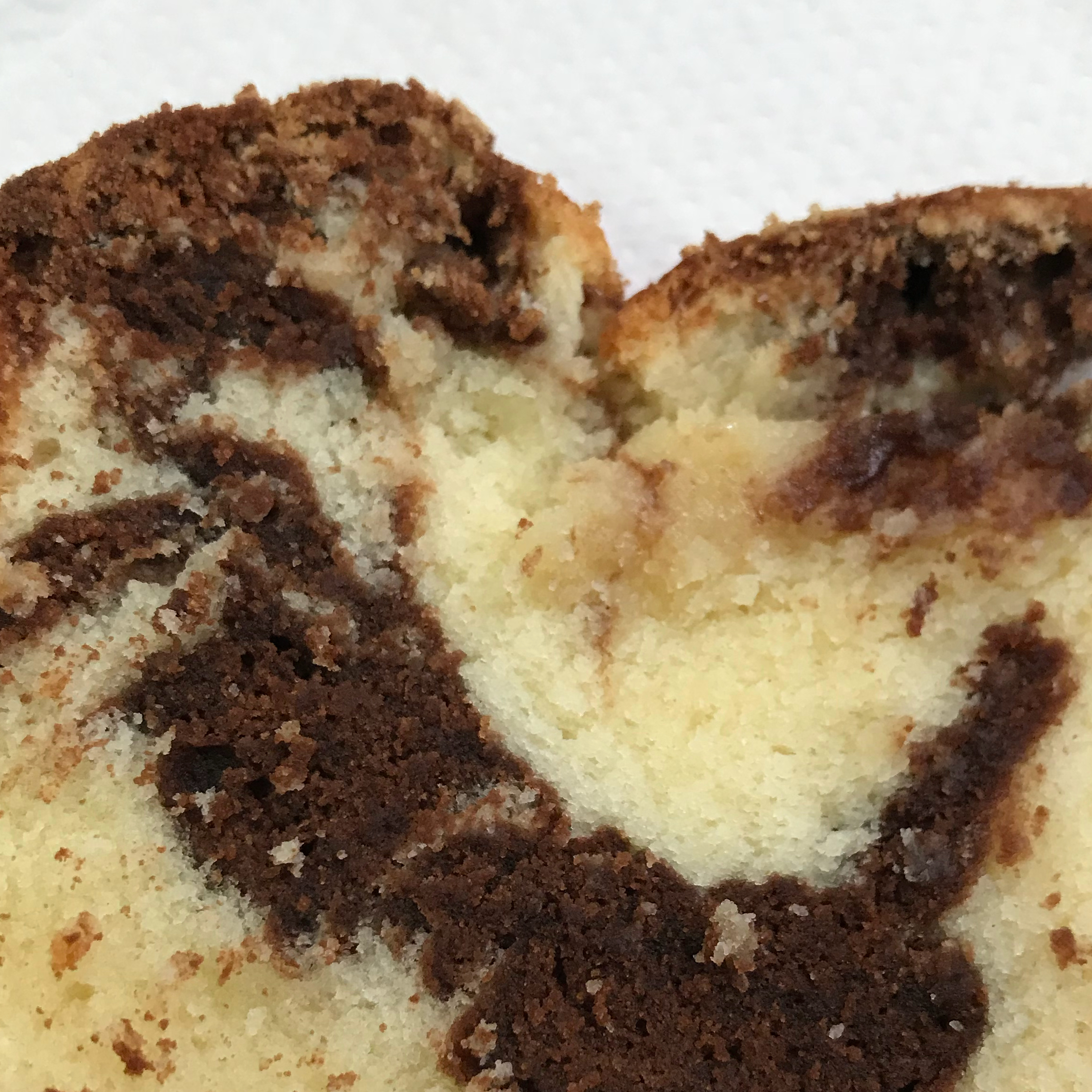 Jan's Dark Chocolate Swirl Pound Cake