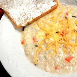Creamy Chicken and Wild Rice Soup jheizer