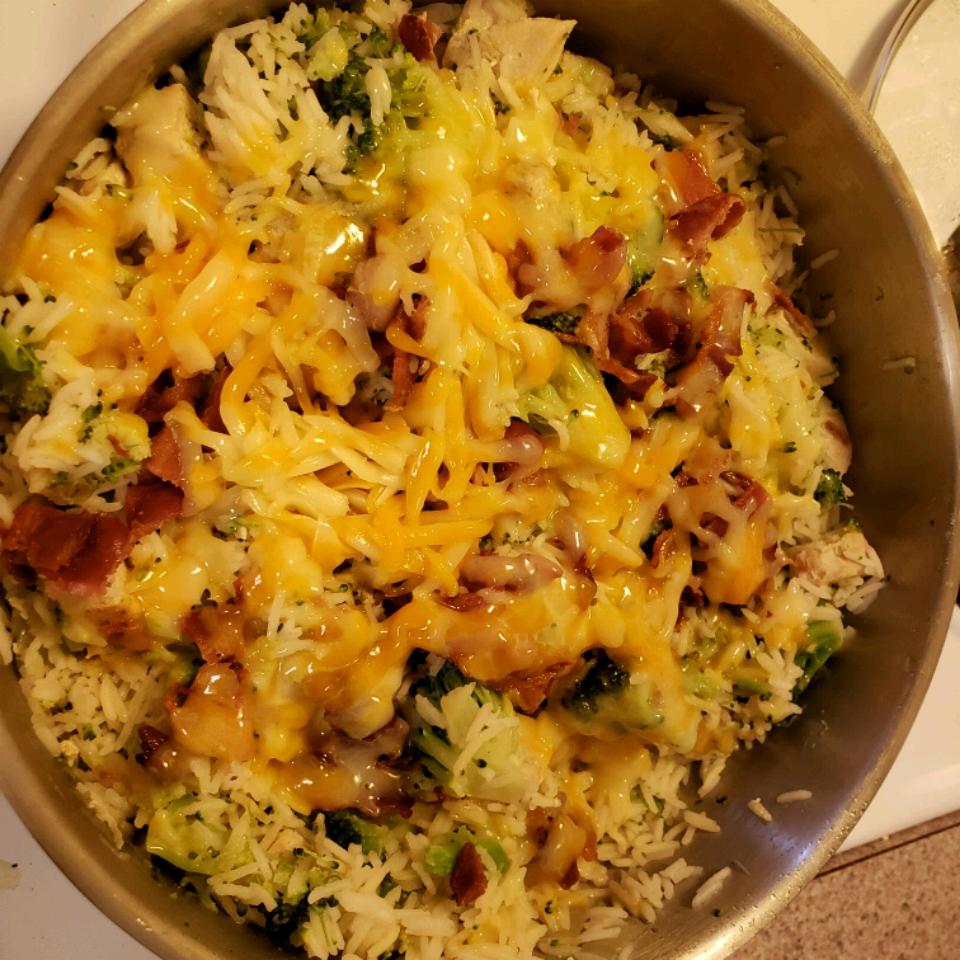 Bacon, Broccoli, Chicken & Rice Dilypres