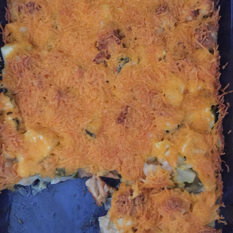 Cheesy Zucchini Casserole I Main sang
