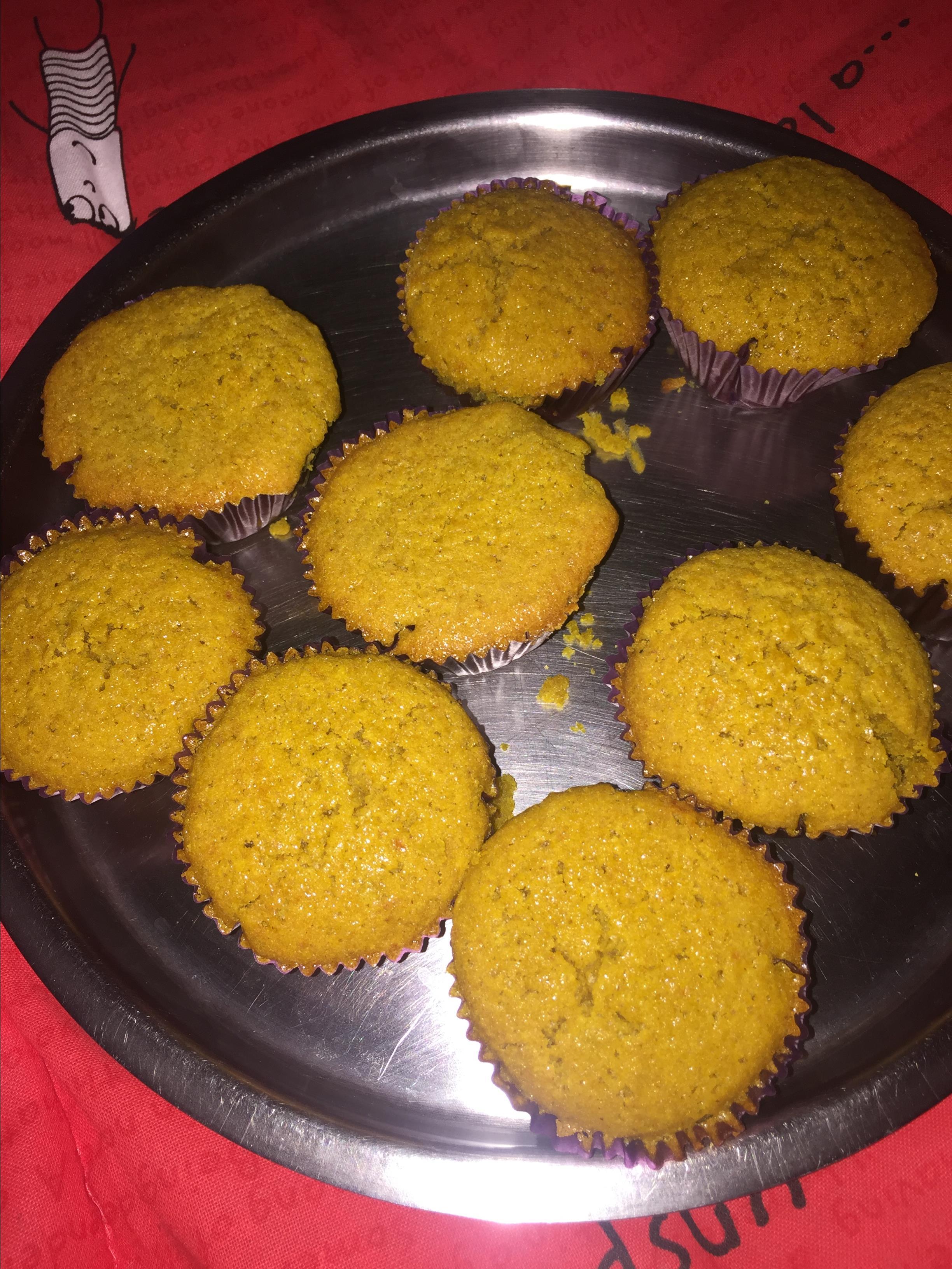 Orange Oatmeal Muffins Sheryl Amanna