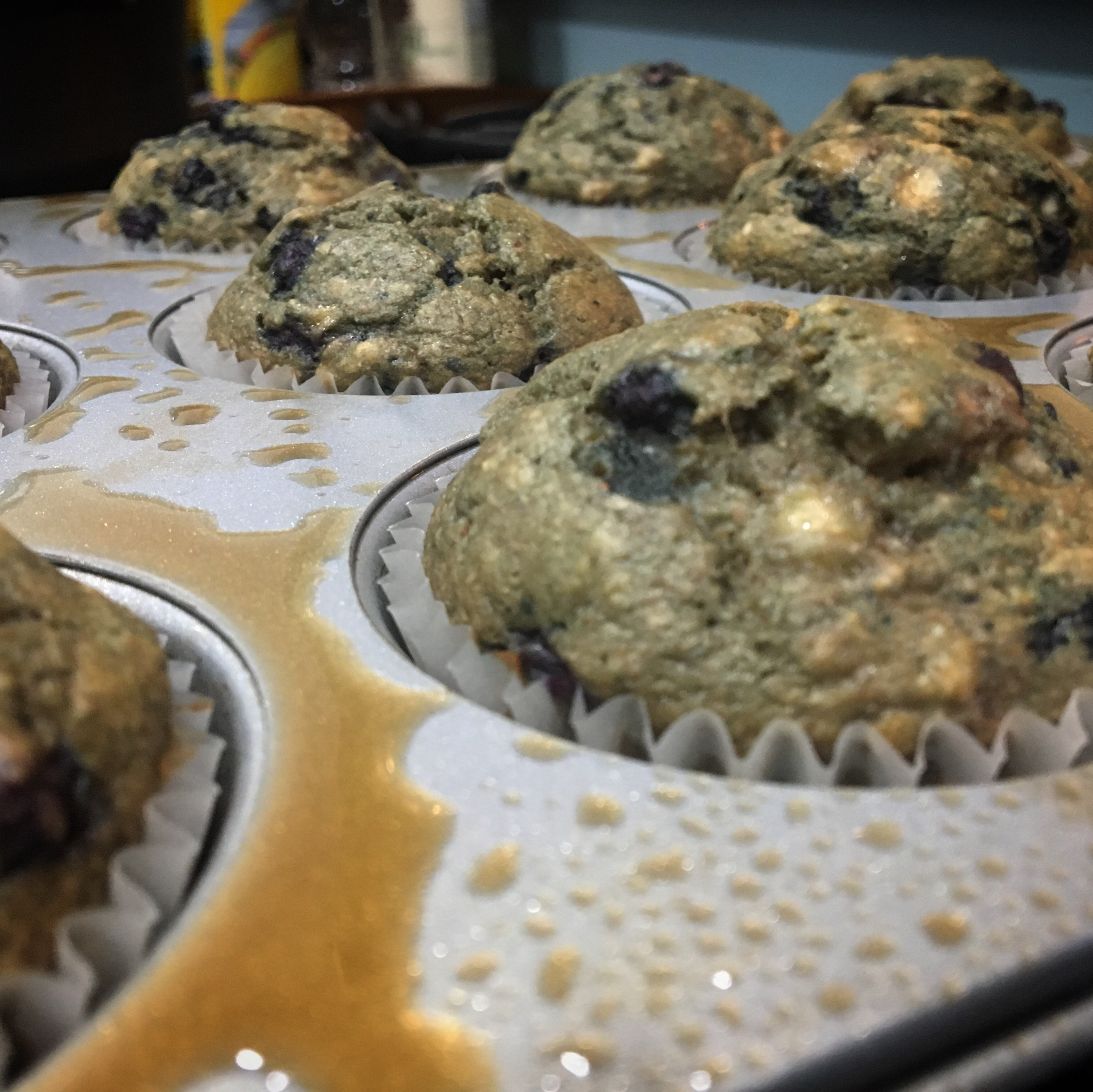 Delicious and Nutritious Whole Wheat Banana and Blueberry Muffins