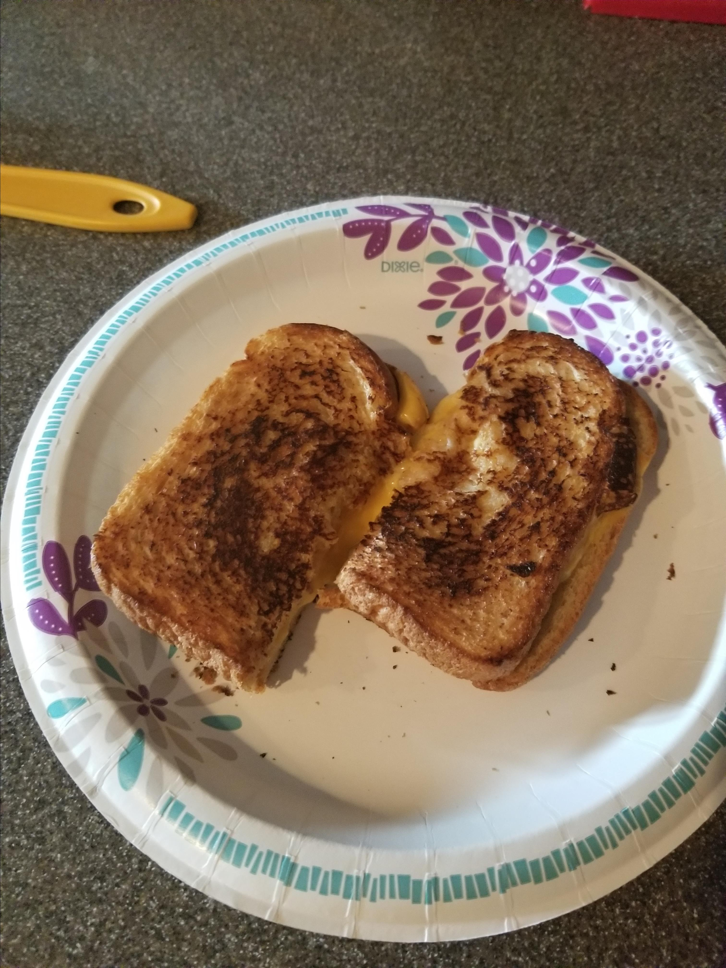 Apple and Bacon Grilled Cheese D.C. Figet spinners
