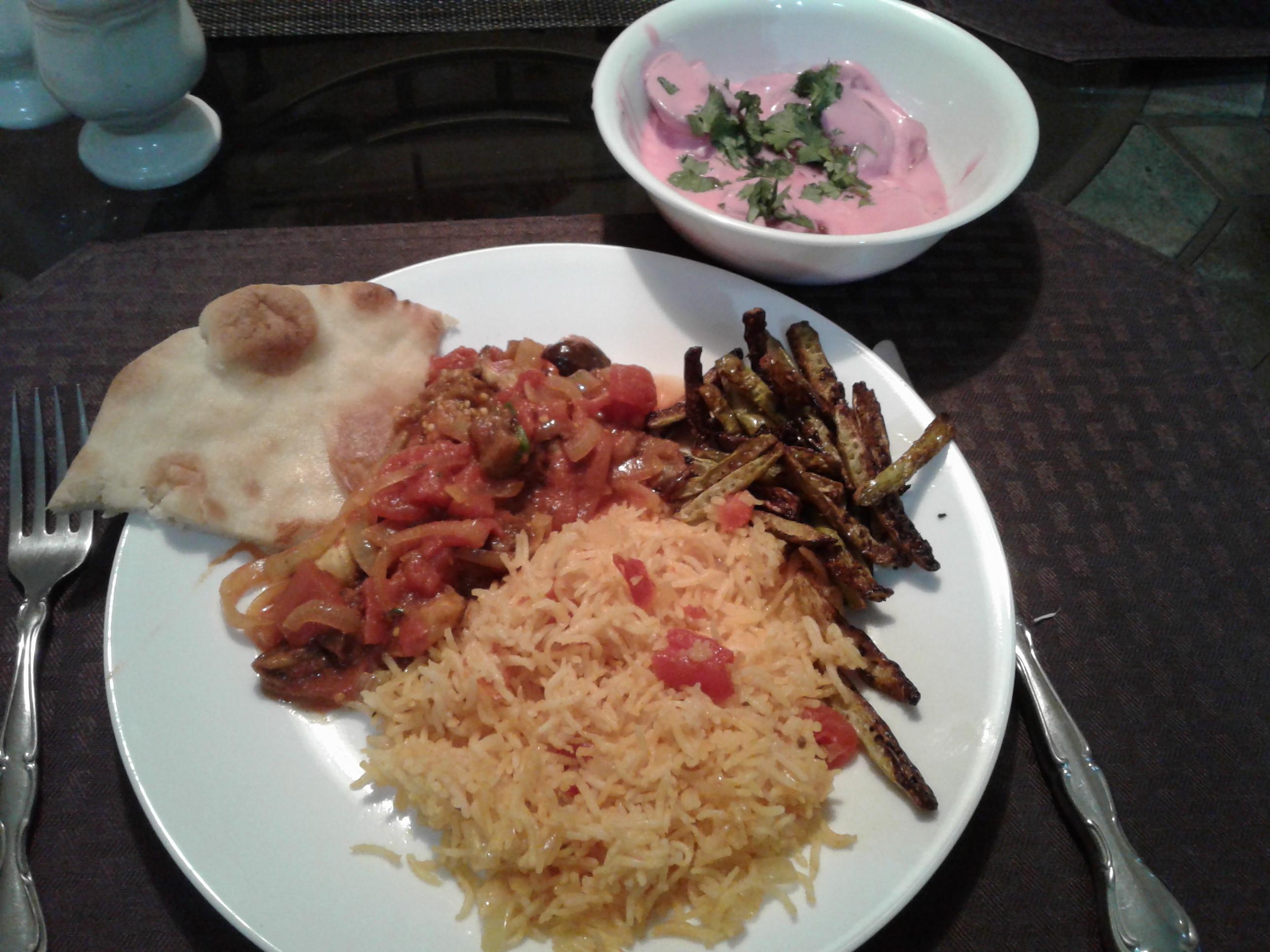 Indian Eggplant - Bhurtha