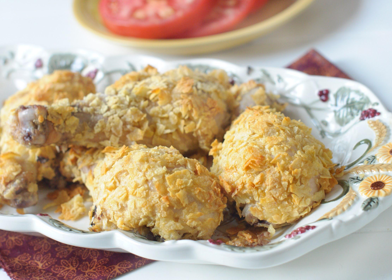 Crispy Baked Chicken Drumsticks KGora