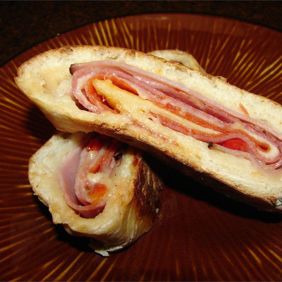 Ham and Cheese Stromboli GodivaGirl