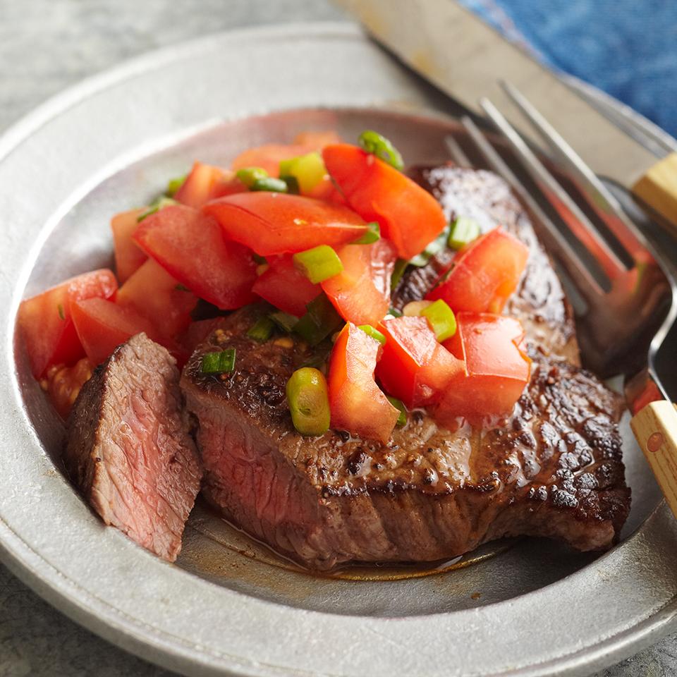 Tomato-Herbed Steak Diabetic Living Magazine