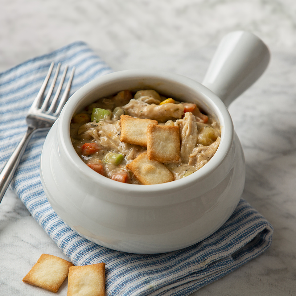 Easy Chicken and Vegetable Pot Pie Almond Breeze