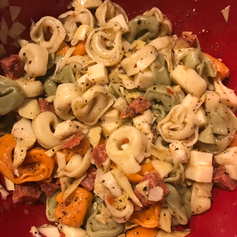 Cheese Tortellini Salad sambucca