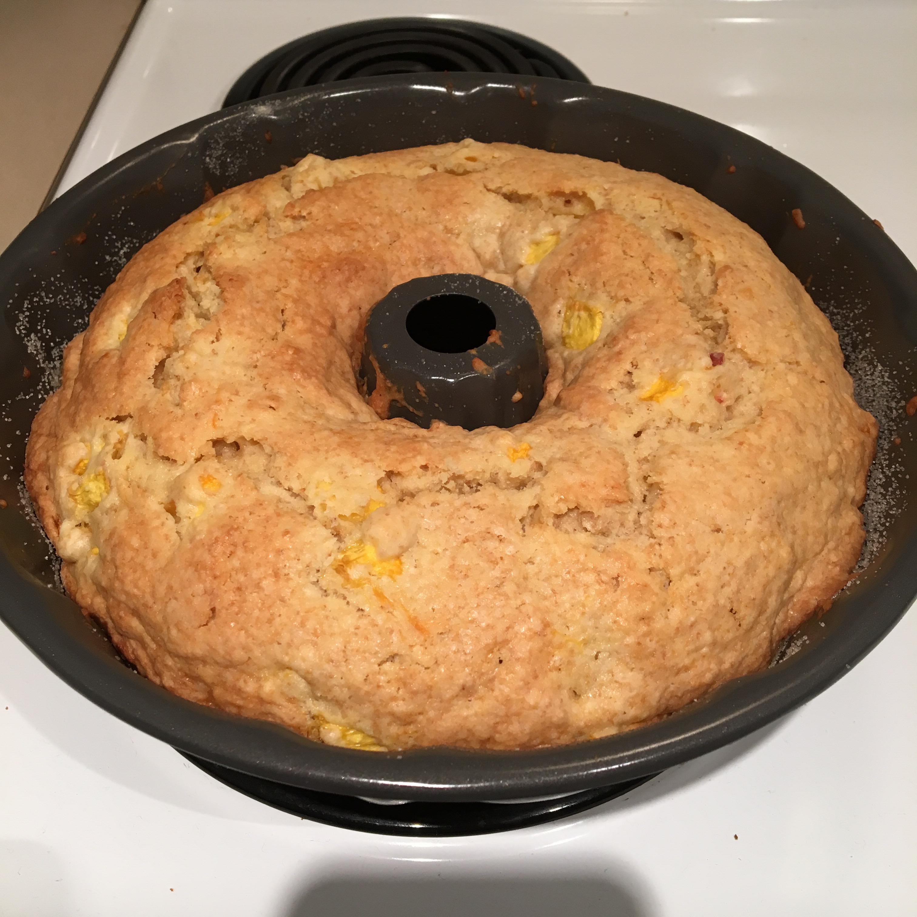GA Peach Pound Cake David Weir