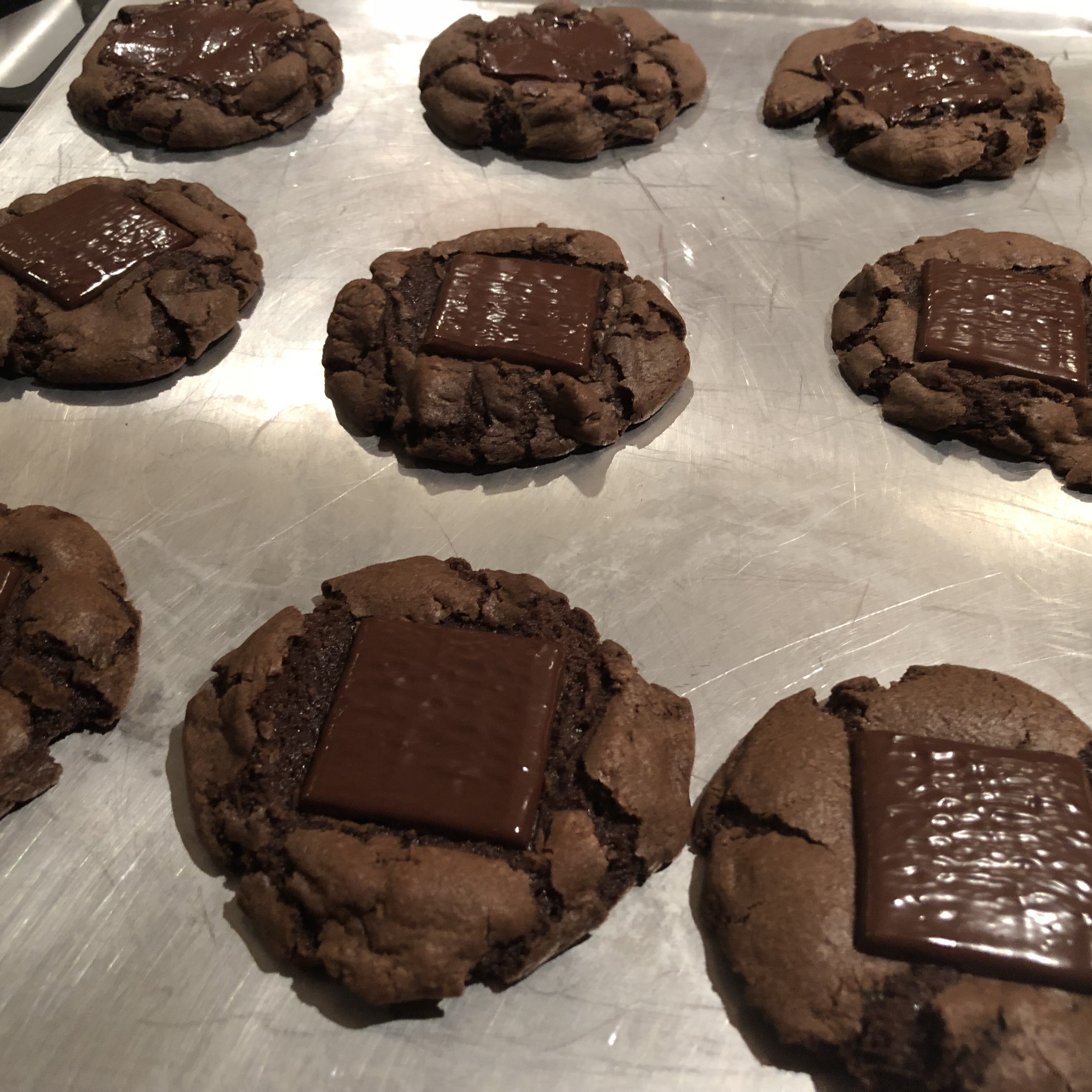 Chocolate Mint Cookies I Olivia Preston
