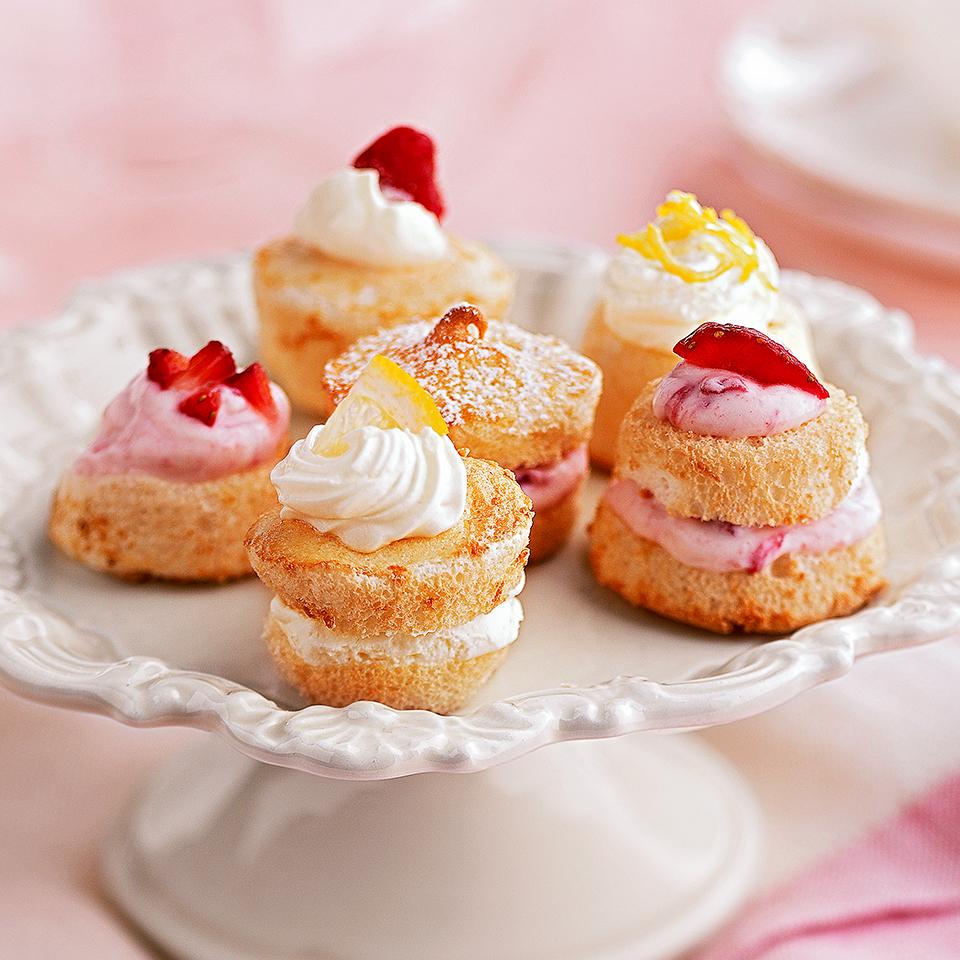 Citrus Angel Tea Cakes Diabetic Living Magazine